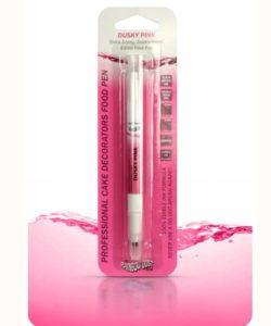 RD Double Sided Food Pen Dusky Pink