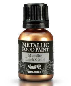 RD Metallic Food Paint Dark Gold 25ml