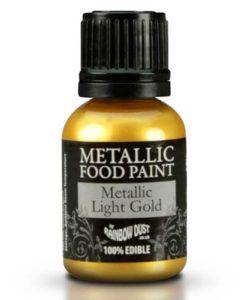 RD Metallic Food Paint Light Gold 20ml