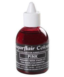 Sugarflair Airbrush Colouring Pink 60ml