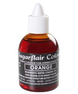 Sugarflair Airbrush Colouring Orange 60ml