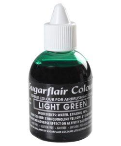 Sugarflair Airbrush Colouring Light Green 60ml