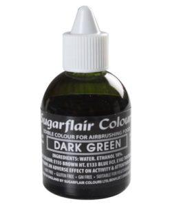 Sugarflair Airbrush Colouring Dark Green 60ml