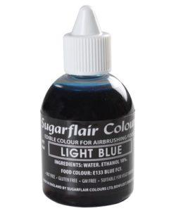 Sugarflair Airbrush Colouring Light Blue 60ml