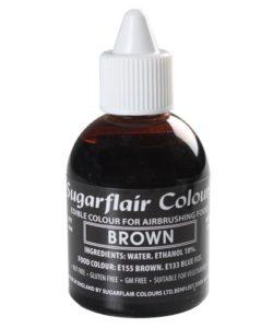 Sugarflair Airbrush Colouring Brown 60ml