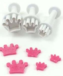 Dekofee Mini Plungers Crowns set/3