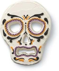 Wilton skull tube pan bij cake, bake & love 10