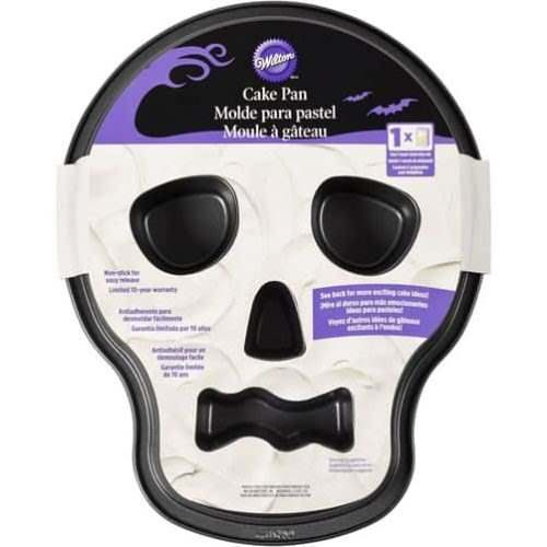 Wilton skull tube pan bij cake, bake & love 5