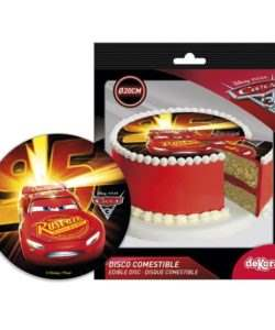 Icing disc Cars 20 cm