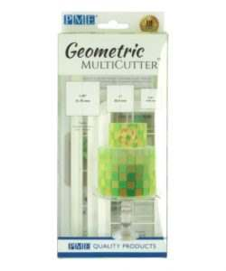 PME Geometric Multicutter Square Set/3