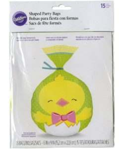 Wilton easter chick party bags set/21 (2)