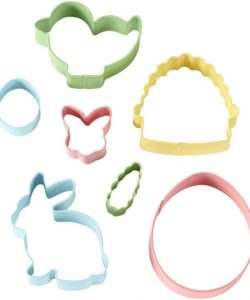 Wilton cookie cutter easter set/7 (2)