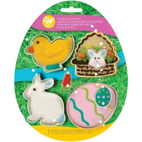 Wilton cookie cutter easter set/7