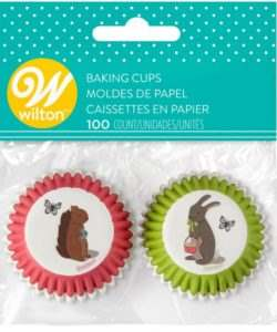 Wilton Mini Baking Cups Easter pk/100