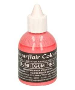 Sugarflair Airbrush Colouring -Bubblegum Pink- 60ml