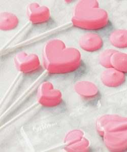 Wilton lollipop mold mini hearts bij cake, bake & love 10