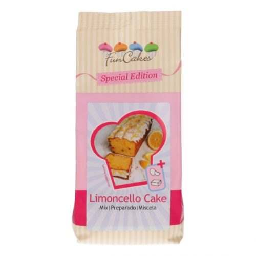 Funcakes special edition mix voor limoncello cake 400g bij cake, bake & love 4