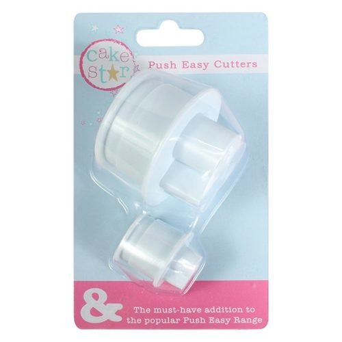 Cake star easy push ''&'' large and small cutters bij cake, bake & love 6