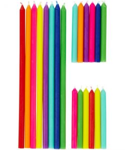 Wilton Birthday Candles Tall & Short pk/20 (2)