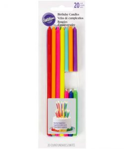 Wilton Birthday Candles Tall & Short pk/20