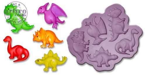 ArtyCo mould - Dino babies large