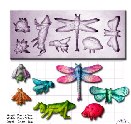 ArtyCo mould - Insecten