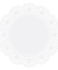 Wilton Doilies White Grease-Proof -Round 25cm- pk/10 (2)