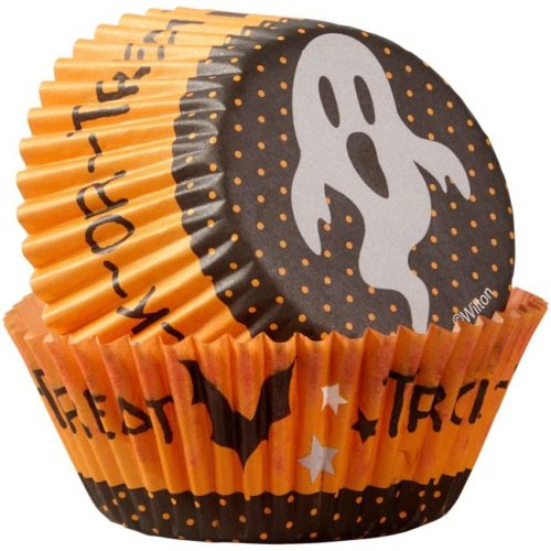 Wilton baking cups trick or treat ghost pk/75 (2)