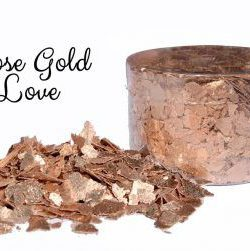 Crystal Candy Rose Gold Love