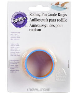Wilton fondant rolling pin guide rings