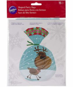 Wilton Shaped Sweet Christmas Party Bags 15 st (2)