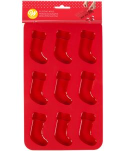 Wilton Silicone Candy Mold Stockings