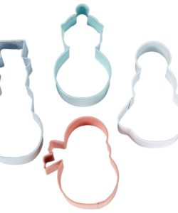 Wilton Cookie Cutter Set Snowman Set/4 (2)