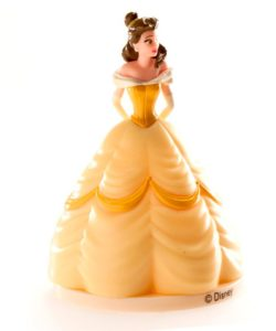 Prinses Belle taarttopper (2)