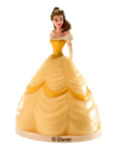 Prinses Belle taarttopper