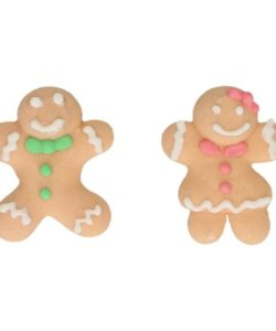 FunCakes Suikerdecoratie Gingerbread Set/8 (2)