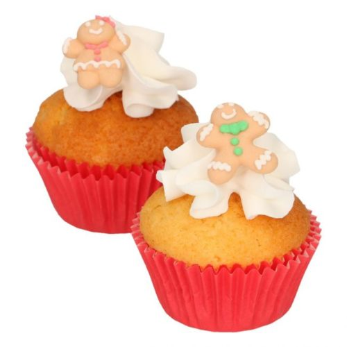 Funcakes suikerdecoratie gingerbread set/8 (3)