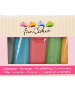 FunCakes Marsepein Multipack Essential Colours 5x100g