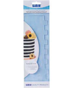 PME Tall Patterned Edge Side Scraper -Stripes-