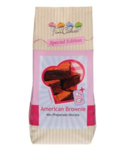 FunCakes Special Edition Mix voor American Brownie 500g