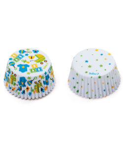 Baking Cups Baby Party and Dots 36 st