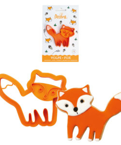 Fox Plastic Cookie Cutter