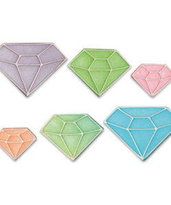 8 Diamonds Sugar Decorations
