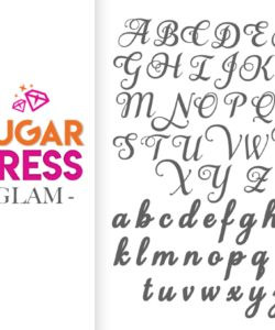 Sugar Press Glam