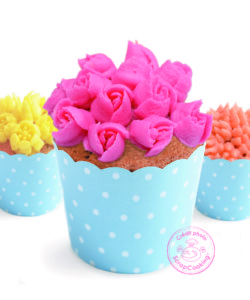 Decoratiekit 3d flowers bij cake, bake & love 8