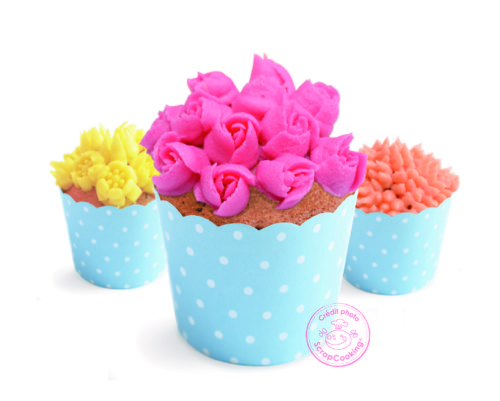 Decoratiekit 3d flowers bij cake, bake & love 5