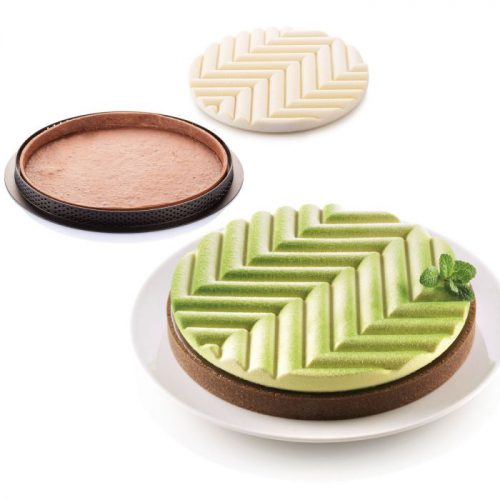 Silikomart mould kit tarte graphique bij cake, bake & love 5