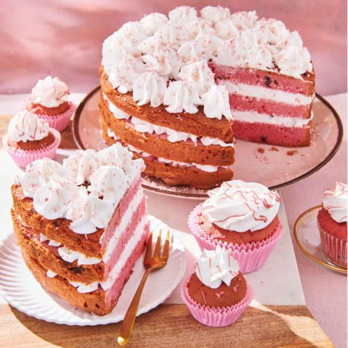 Funcakes special edition mix voor ruby cake - 400g (2)
