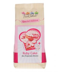 Funcakes Special Edition Mix voor Ruby Cake - 400g