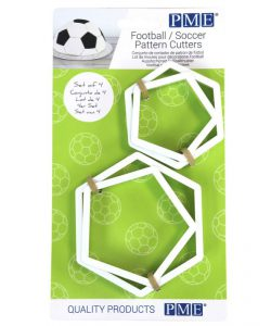 PME Football/Soccer Pattern Cutters Set/4 (2)